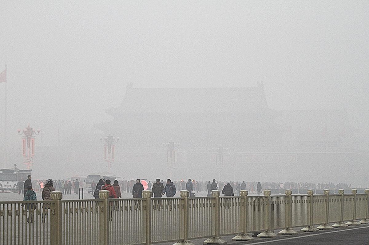 中國改革40年,誰之功,誰之過,其實一目瞭然。圖為北京天安門。(ChinaFotoPress via Getty Images)