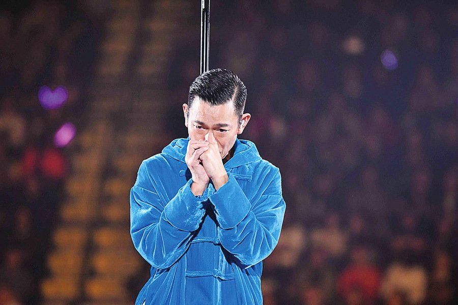 劉德華患流感 紅館演唱申請年底補場