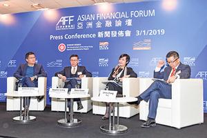 滙豐施穎茵:港經濟放緩 但仍穩健