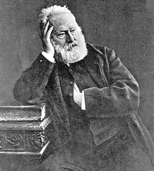 維克多.雨果1880年1月2日資料照。(AFP)