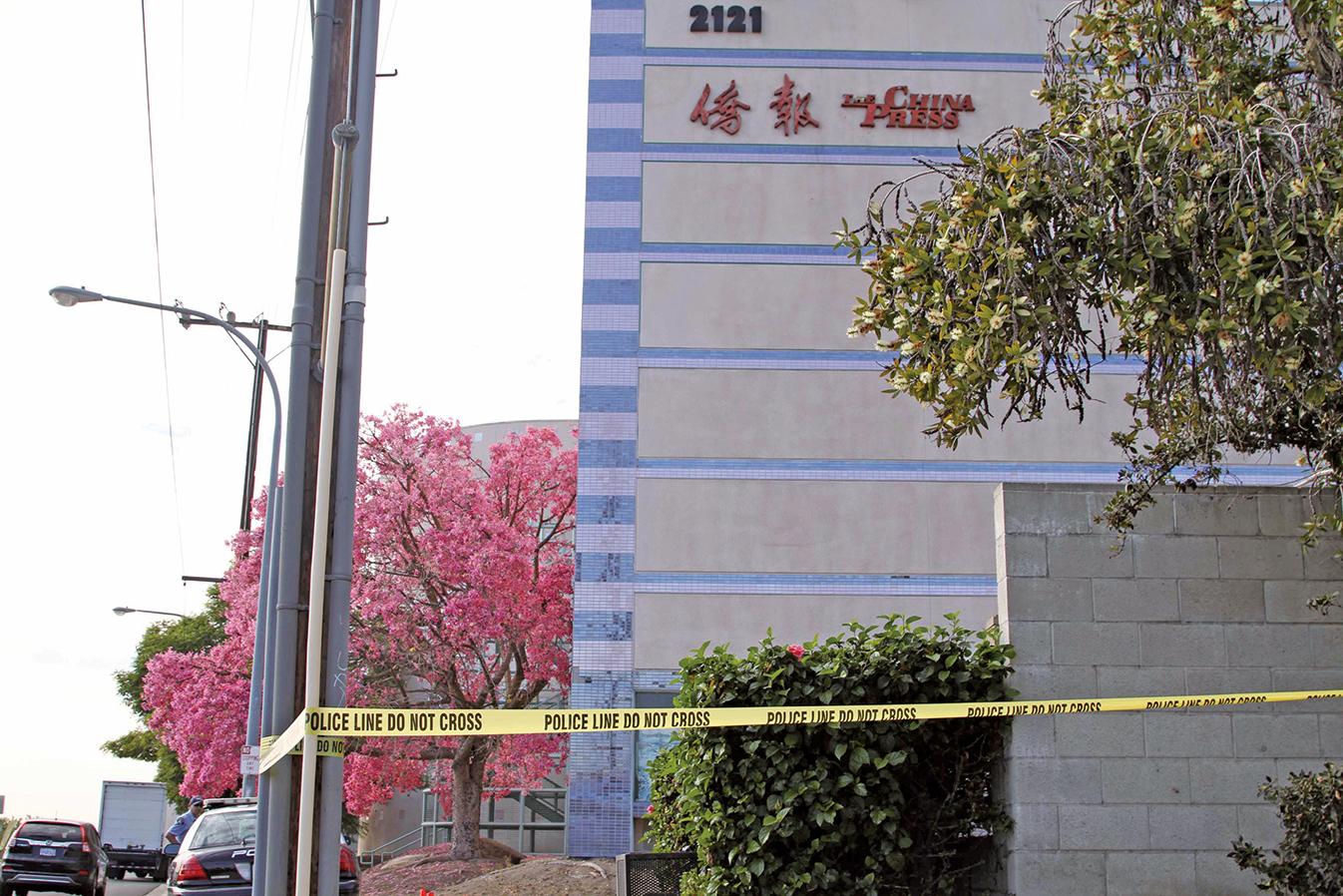 11月16日,美西的親共媒體《僑報》的董事長謝一寧遭遇槍擊死亡。 (大紀元資料室)