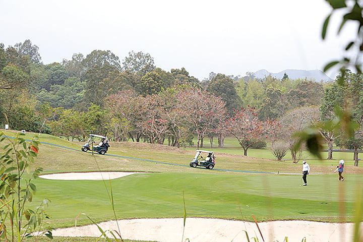 圖為粉嶺高爾夫球場。(大紀元資料圖片)