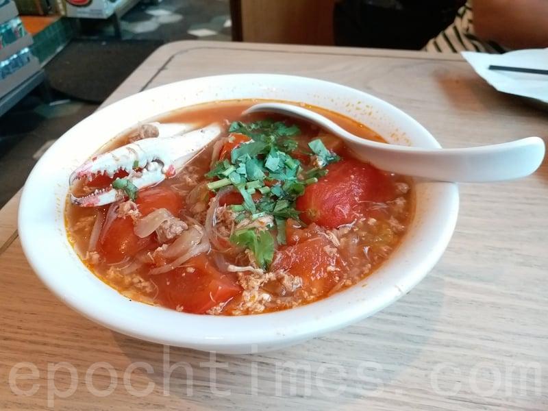 河內番茄蟹肉湯檬真心推介大家去到必吃。