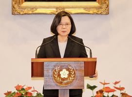 不排斥對話 蔡英文:中國須民主化並放棄動武