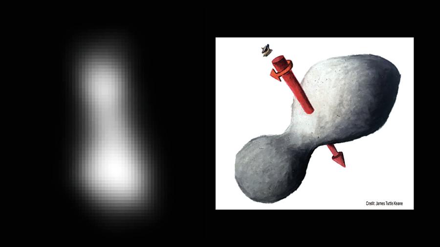 發首張圖像報平安  新視野號飛掠太陽系邊緣