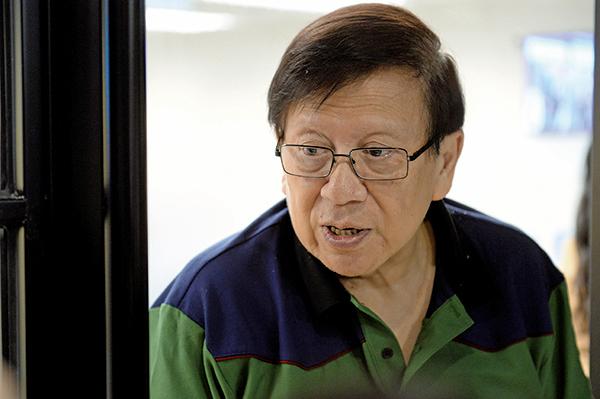 易還財務投資主席蕭若元。(宋碧龍/大紀元)