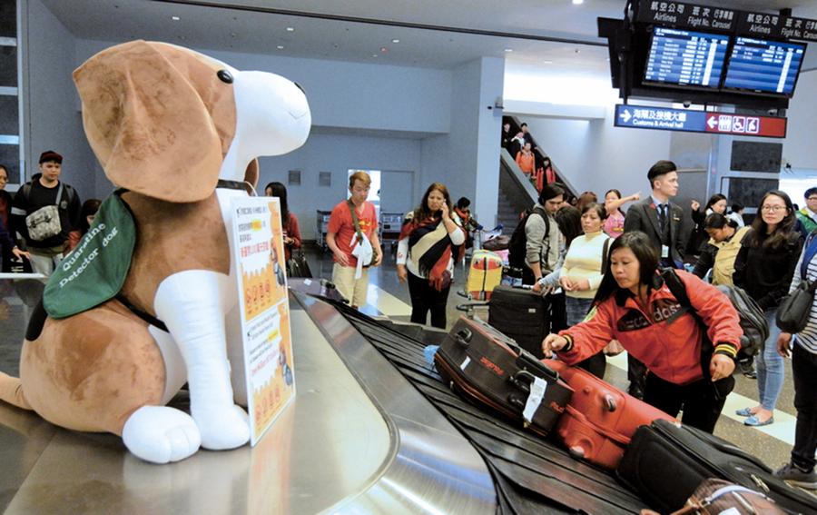 違禁肉入台十件驗出豬瘟 來自中國不同省份
