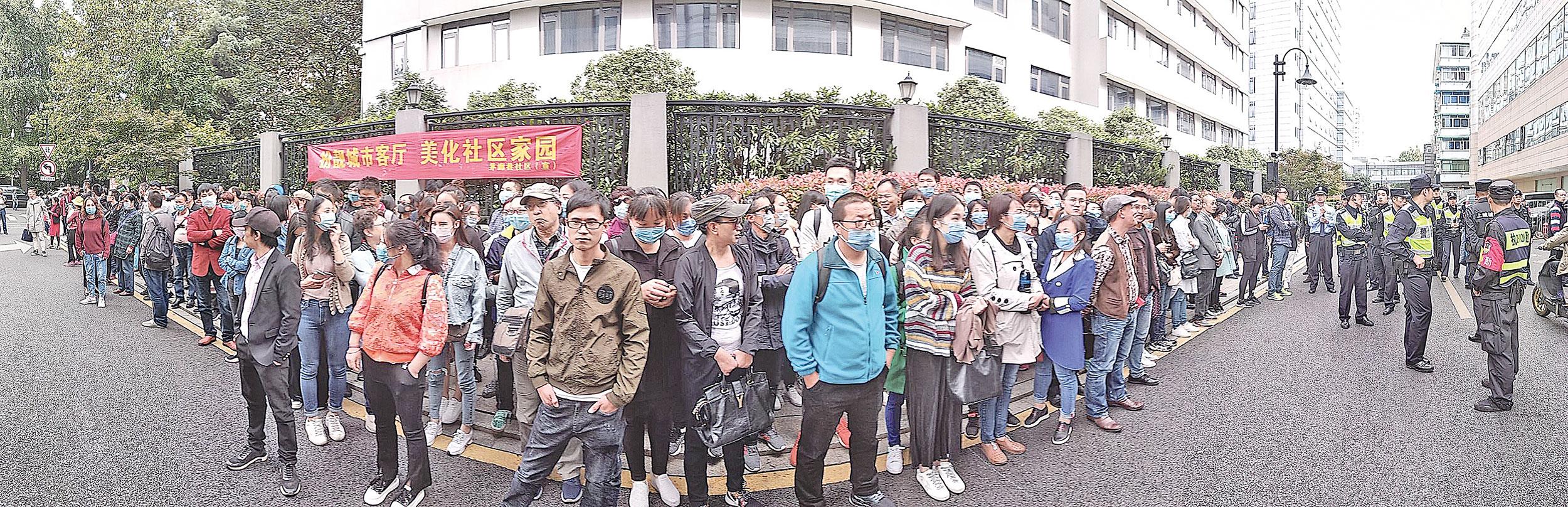 隨著中國經濟下行、失業潮擴大,中國民間的維權抗爭事件與官民衝突,恐將與日俱增。(大紀元資料圖片)