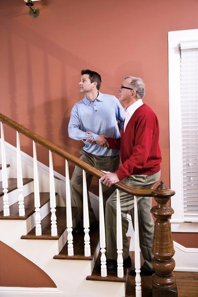 爬樓梯喘吁吁 罹患肺阻塞徵兆