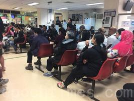 流感高峰 6間公立醫院急診室輪候逾8小時