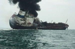 運油輪南丫島爆炸釀1死2失蹤