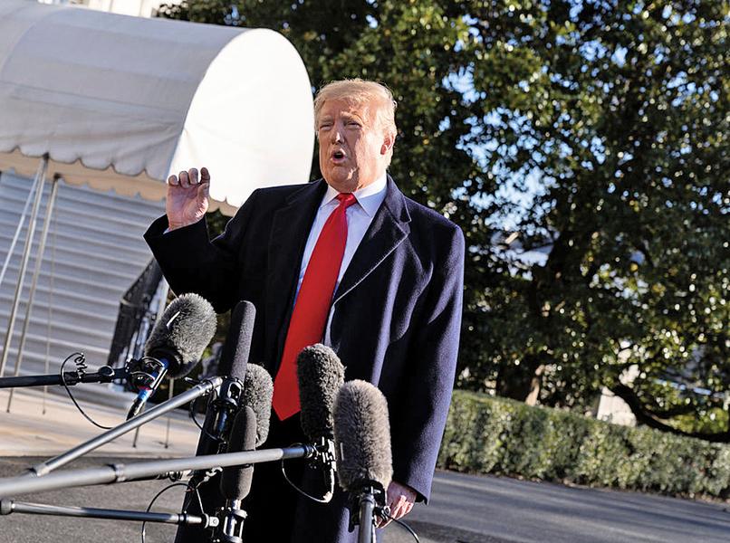 特朗普發表全國講話 呼籲正視邊境安全