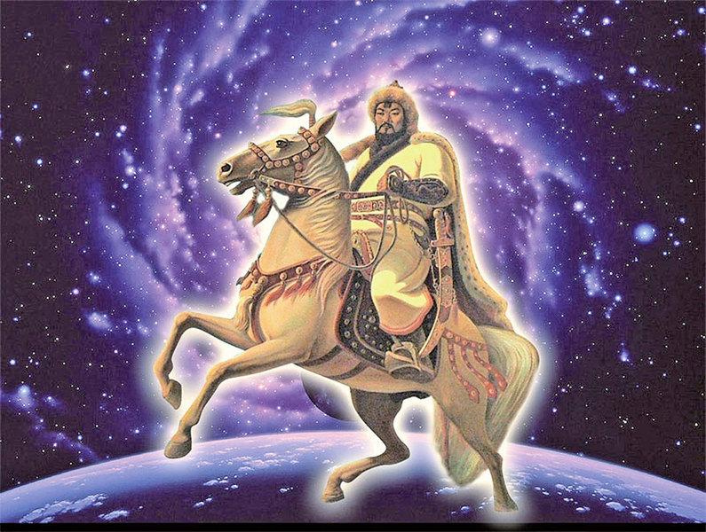 史錄中的 「金剛轉輪」 成吉思汗