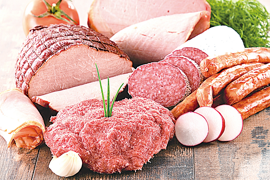 加工類食品不宜多吃,會影響身體健康。
