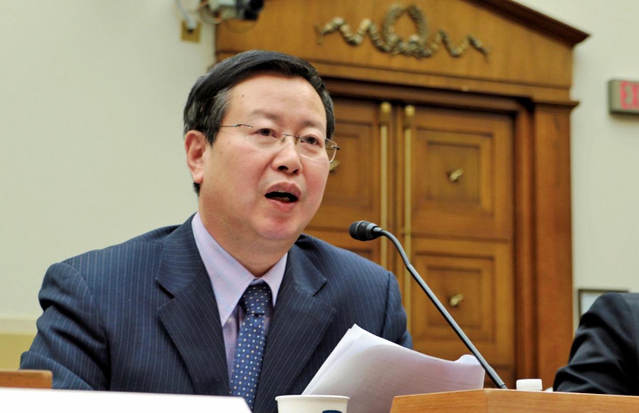 北大前教授夏業良表示,中共不敢對台灣動武,它現在只是武力威嚇台灣。(大紀元)