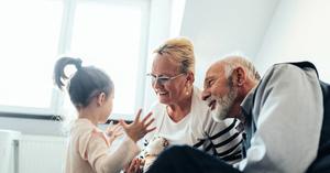 祖父母參與育兒的益處