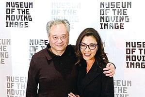 楊紫瓊與李安談亞裔電影 期待雙方再合作