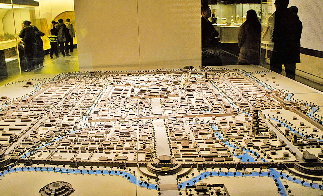 靖康之變前的北宋東京城模型(Zcm112/Wikimedia Commons)