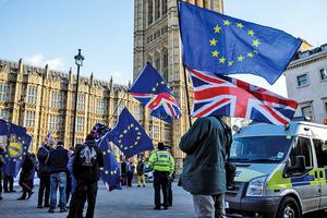 英通過法案 反對無協議脫歐