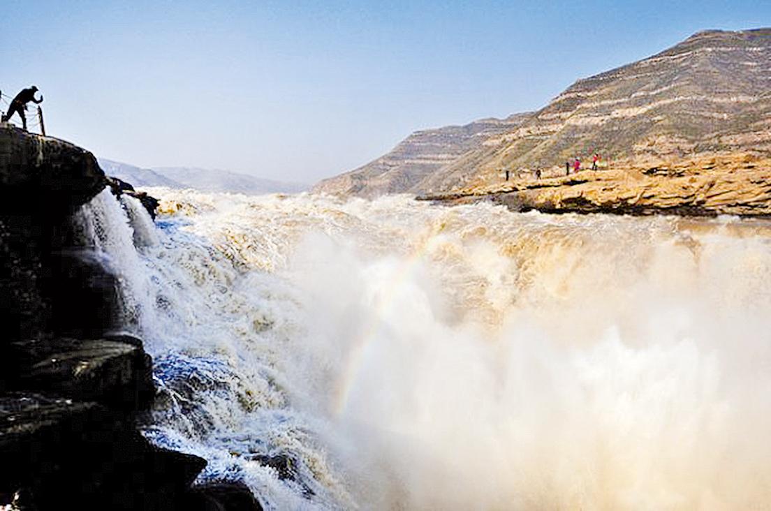 黃河之水天上來,奔流到海不復回(圖片:Flickr/li yong)是非成敗轉頭空