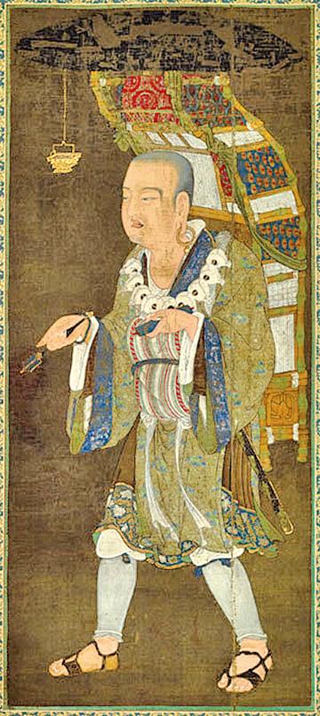 《玄奘西行圖》,東京國立博物館藏。(公有領域)
