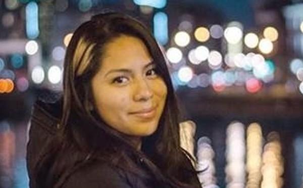 在巴黎恐怖襲擊中遇難的加州州立大學長灘分校23歲學生諾美・岡薩雷斯 (Nohemi Gonzalez)。(臉書圖片)