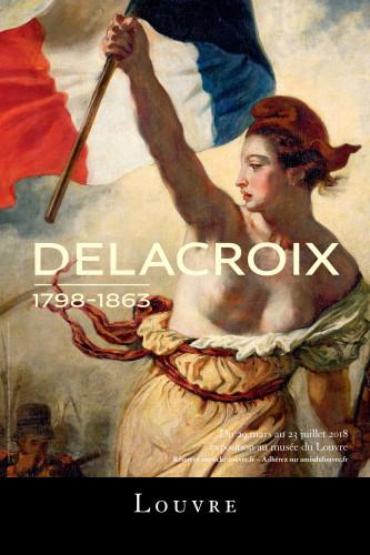 法國為向藝術家德拉克羅瓦致敬,法國巴黎的羅浮宮與美國紐約的大都會聯手合辦德拉克洛瓦大型回顧展,展出其180件作品。(圖片/羅浮宮)
