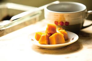 【健康甜品】涼拌甜南瓜