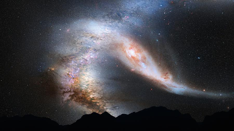 宇宙中暗物質會移動和增溫