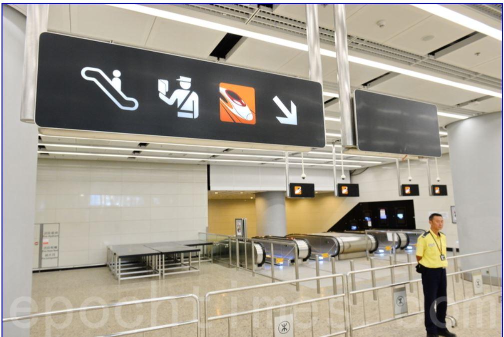 昨晚一名外籍青年乘坐高鐵到西九龍站,懷疑出現發燒及疑似中東呼吸綜合症的徵狀。(資料圖片)