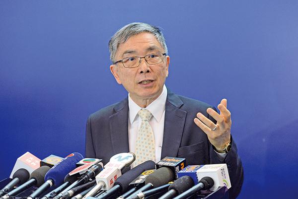 庫務局長劉怡翔:減辣言之尚早