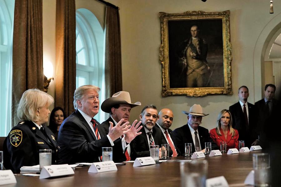 民主黨拒絕以達卡換邊境牆 特朗普:拉美裔將倒向共和黨