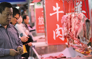 豬瘟惹禍 大陸牛肉價創新高