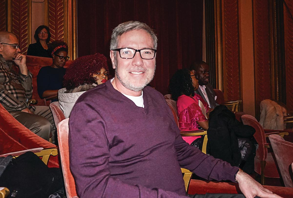 Vander Cook音樂學院副教授Brian Logan。(林慧心/大紀元)