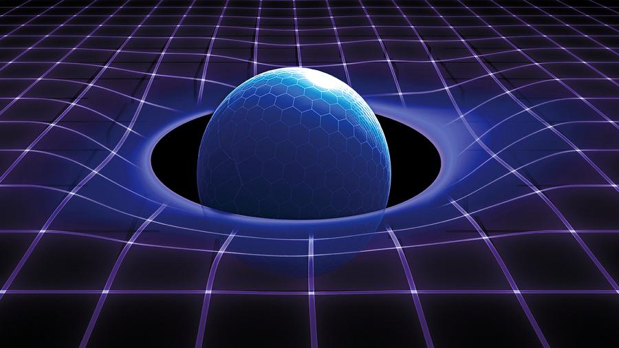 新研究:將時空量子化 黑洞「奇點」悖論有解
