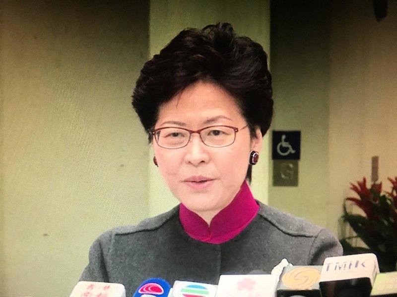 長者綜援政策 林鄭月娥稱有改善空間
