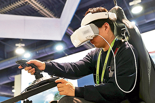 VR過去數年遇冷,高清8K和高速5G技術可望給VR產業帶來突破。(Getty Images)