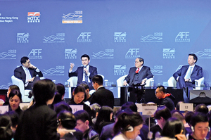 貿易戰衝擊 香港物流量降