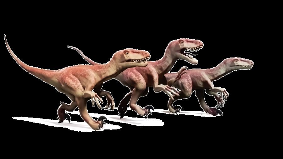 弟弟追著恐龍跑(三)