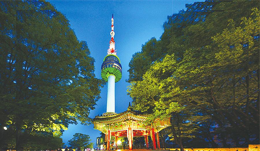 夜遊首爾系列二 首爾的地標 南山首爾塔