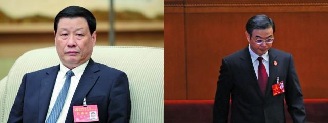 消息披露,上海市市長應勇(左)即將調職北京取代周強(右)。(Getty Images)