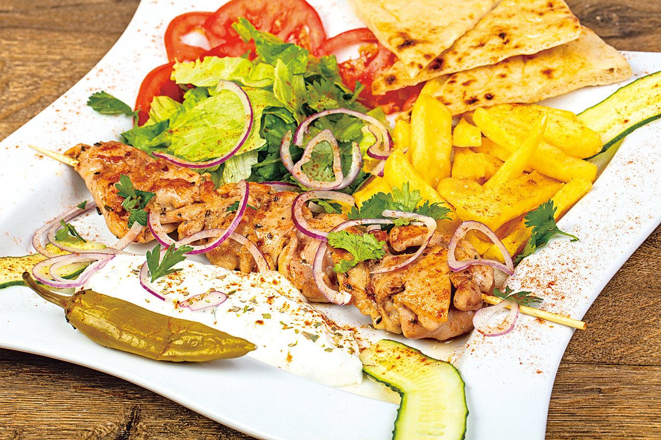 蘇夫拉起是希臘的美食代表,也是一般人熟知的「烤肉串」。