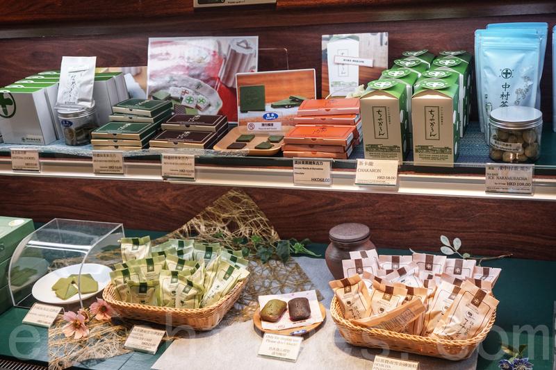 茶包、抹茶海綿蛋糕、抹茶曲奇、雪糕、抹茶糖,多種抹茶食物裝精緻吸引,堂食後可以把這些食物買回家慢慢品嚐。
