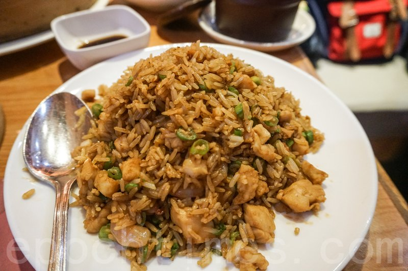 翔龍炒飯炒得乾身,飯粒分明,顏色也漂亮。