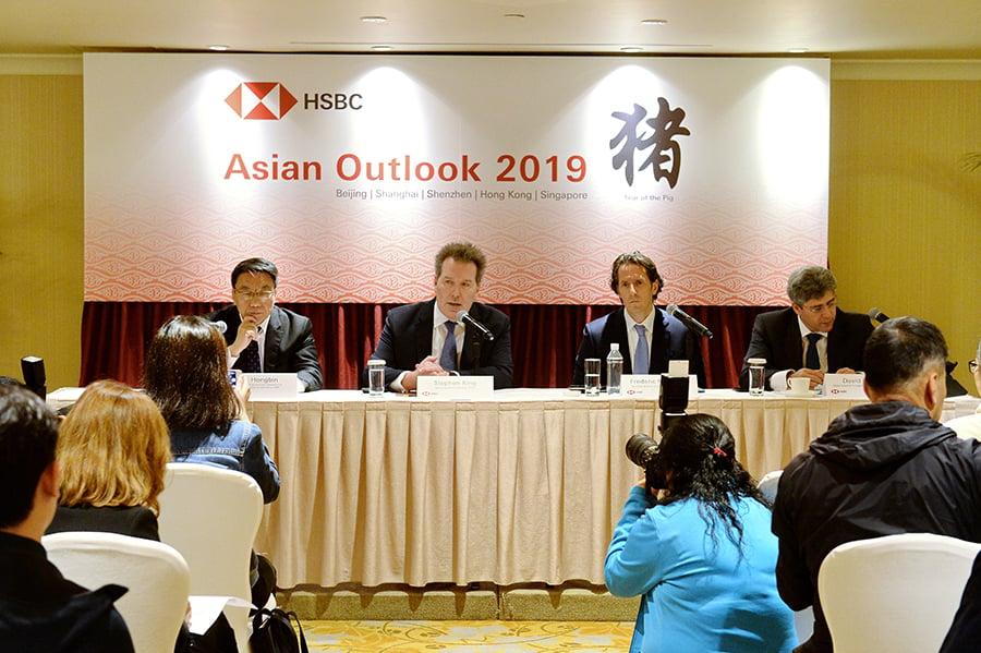 匯豐調低中港經濟預測
