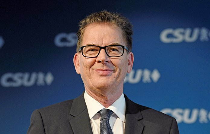 德國經濟合作發展部長穆勒。(AFP)