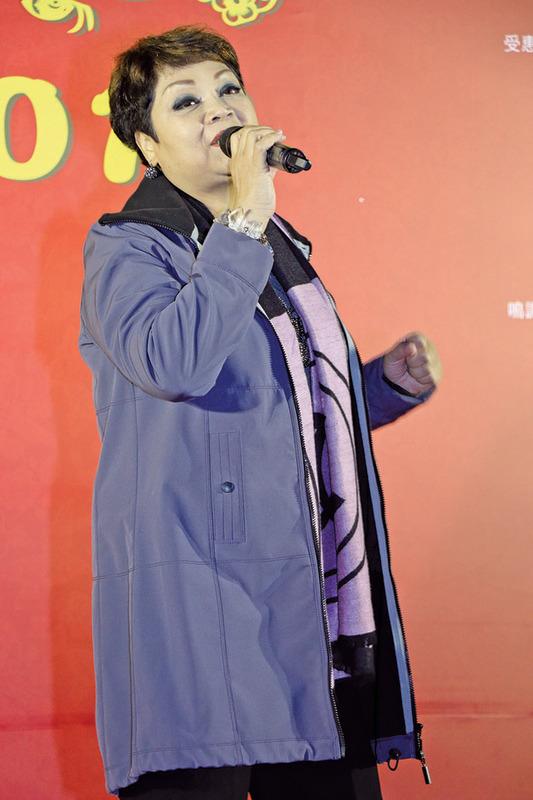 肥媽3月辦最後個人演唱會