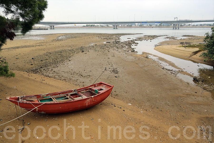 沙螺灣的海灘。(陳仲明/大紀元)