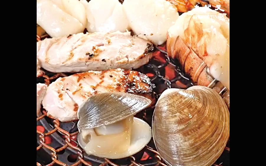 食材醃過再烤,味道層次更豐富。
