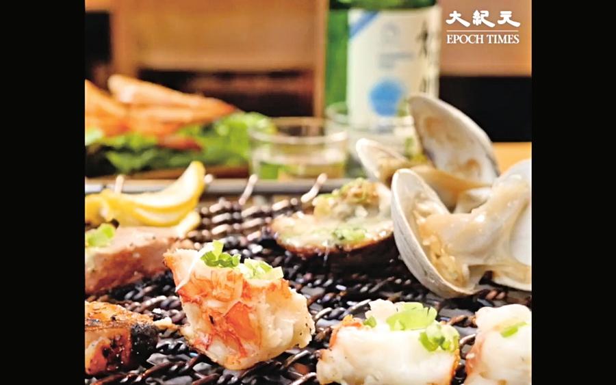 韓式烤海鮮 創造鮮甜好滋味